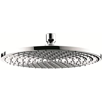 Hansgrohe 27474001 Raindance Downpour AIR Showerhead, 10-Inch, Chrome