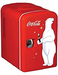 Coca-Cola KWC-4 6-Can Personal Mini 12V DC Car and110V AC Cooler