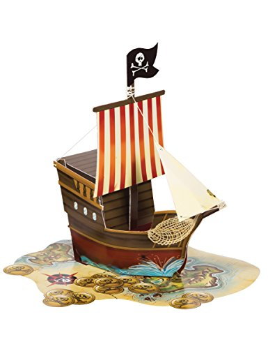 Pirate Ship Table Decoration (Creative Converting 265969 Party Supplies, Any,)