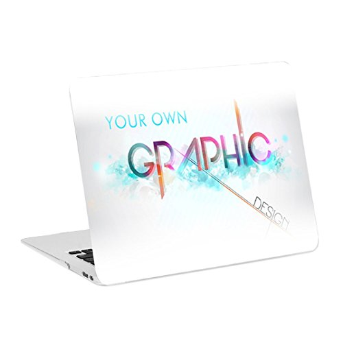 TOP CASE - Create Your Own Graphics and Text Customized Rubberized Hard Case Cover Compatible with Apple MacBook Air 13