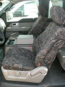 Durafit Seat Covers, F460 Conceal Camo Endura Seat Covers-Ford F150 Bucket Seats with Side Impact Airbags