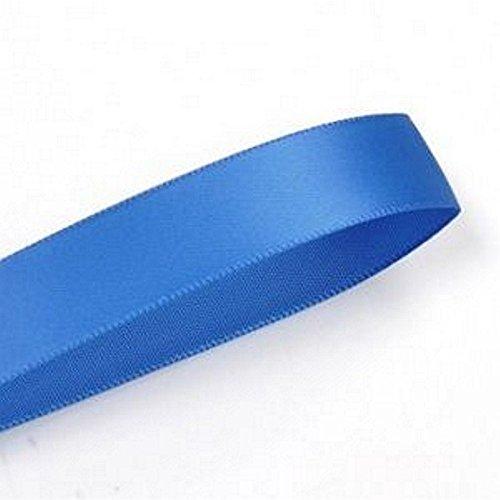 로얄 블루 3 | 8IN. 넓은 양면 새틴 리본-100 야드 스풀