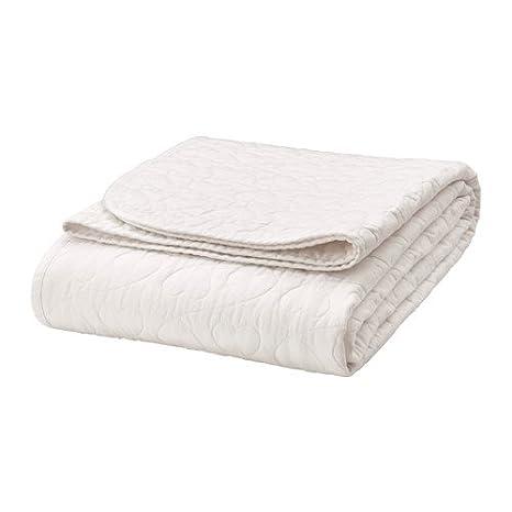 Ikea väns kaplig Colcha para cama infantil; en blanco; (150 x 250 ...