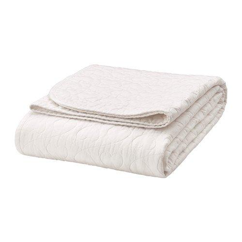 Ikea väns kaplig Colcha para cama infantil; en blanco; (150 ...