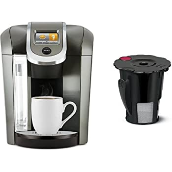 Keurig Coffee Maker Problems Prime : Amazon.com: Keurig K575 Coffee Maker, Platinum and Keurig 119367 2.0 My K-Cup Reusable Coffee ...