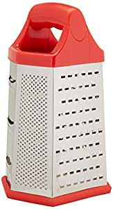 6 in 1 Stainless Steel 6 Sided Cheese Grater Shredder