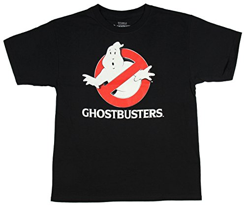 Ghostbusters T Shirt (Ghostbusters Boys Glow In the Dark Graphic Tee)