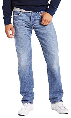 Levi's 501 Levi?s Original Fit, Vaqueros Straight para Hombre Azul (Rocky Road Cool 2563)