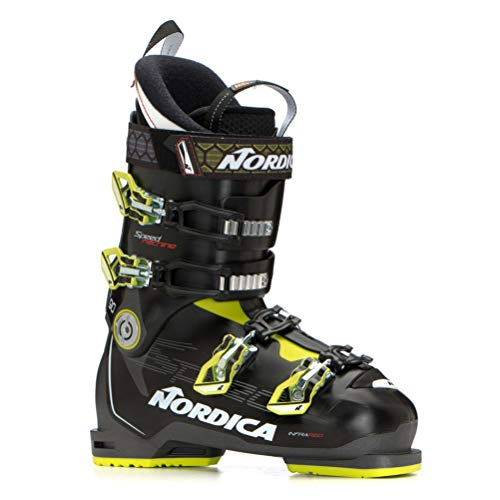 Nordica Speedmachine 90 Ski Boots - 28.5/Black-Anthracite-Lime