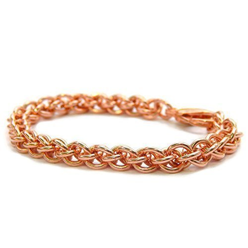 Solid Copper Handmade Bracelet for Good Energy to Help Relieve Arthritis, Wrist, Joint Pain Naturally (Custom - Help Sizing