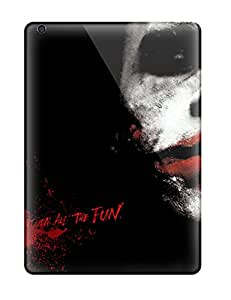 Closeup Joker From Batman Case Compatible With Ipad Air Hot Protection Case