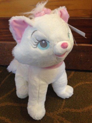 Disney Parks Big Eyes Floppy Marie the Cat 12 inch Plush Doll NEW