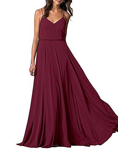 of A Leader Damen Beauty Kleid the Weinrot Linie fTTpAc4Wa