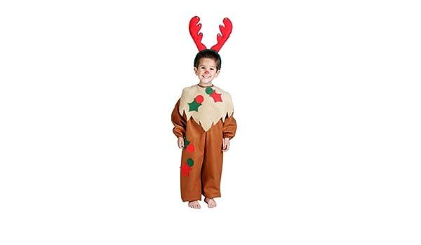 Disfraz de reno para niño - 1-3 años: Amazon.es: Juguetes y juegos