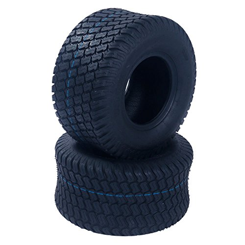 2Pcs 18×9.50-8 Lawn & Garden Tire 4PR Lawn Mower Utility Cart Turf Tires