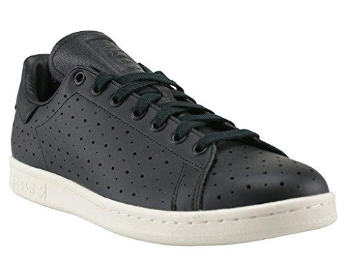 adidas Stan Smith Herren Sneaker schwarz core black S75077 Leder Gr. 49 1/3