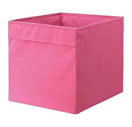 IKEA Drona Caja, Rosa, 4 unidades