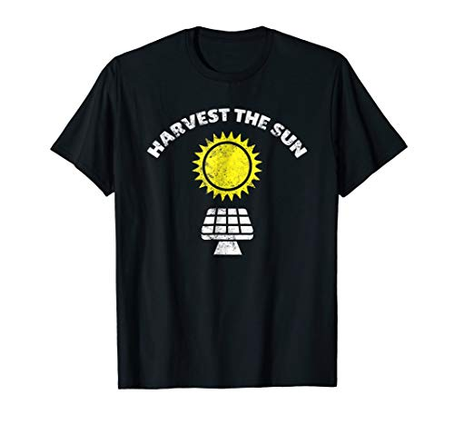 Harvest the Sun Vintage Earth Day Clean Energy Shirt