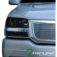Topline Autopart Smoke Housing Headlights With Signal...