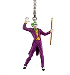DC Comics Villain JOKER Figure Ceiling Fan Pull Light Lamp