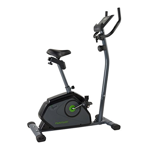 (TUNTURI B40 Cardio Fit Series Low Instep Upright Exercise Bike)