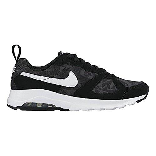 Nike Wmns Air Max Muse Print, Zapatillas de Deporte para Mujer Negro (Black / White-Anthracite)