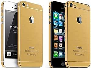 iPhone 5 GOLD Sticker - Bundle of 2