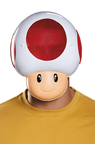 Cartoon Character Costume Ideas Adults (Disguise Men's Toad Costume Accessory Mask - Adult, Multi, One)