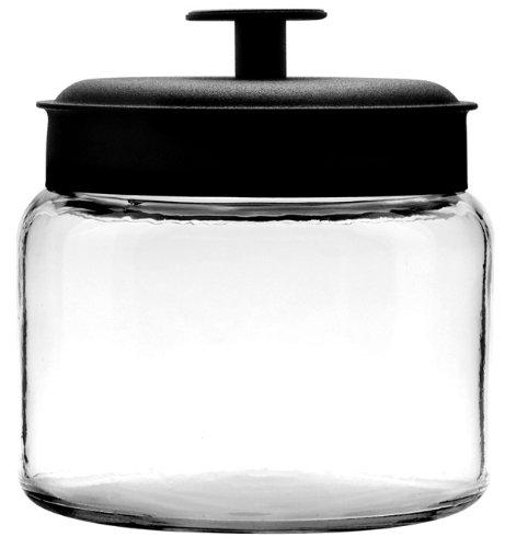 48oz glass jar - 1