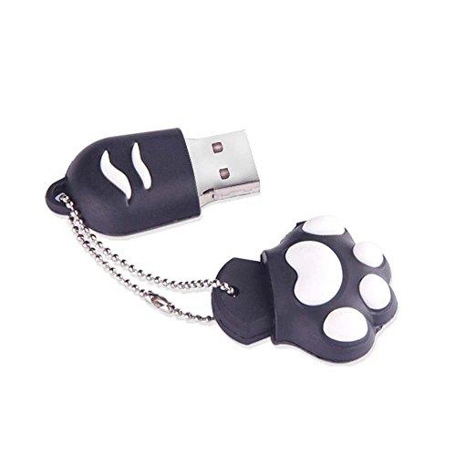 TOOGOO Black Cat Shape 16GB USB 2.0 Flash Drive