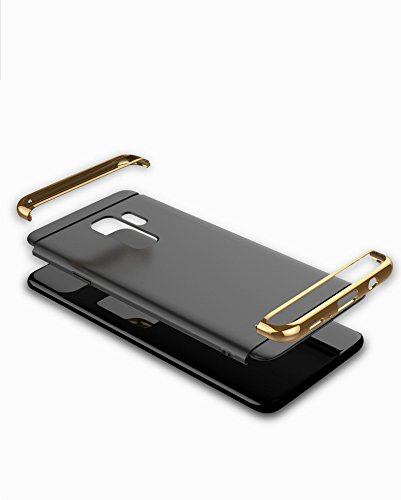 Cassa S9 Custodia Gold Case Samsung Duro 360 Sottile Galaxy S9 PC Galaxy 3 1 Galaxy Samsung Rose S9 Shock Rigido Ultra in Case Antigraffio Cover per Plus Gradi Absorption fwnXvqIg