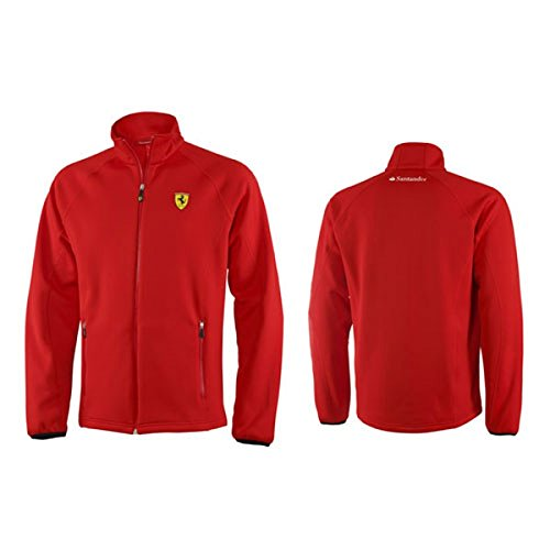 Ferrari Santander Softshell Jacke Men rot Alonso Masssa: Amazon.de ...