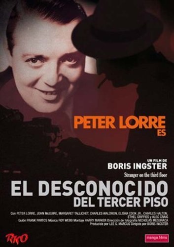 Stranger on the Third Floor [ NON-USA FORMAT, PAL, Reg.2 Import - Spain ] by Peter Lorre