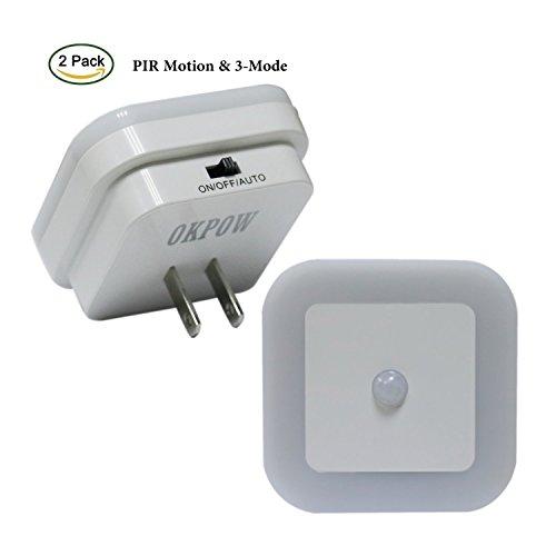 Motion Detector Led Night Light 2 Pack