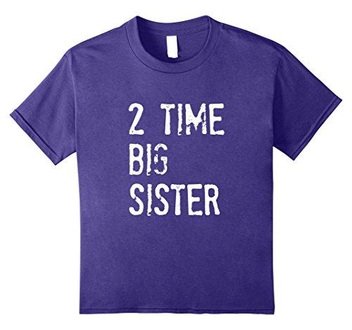Kids 2 Time Big Sister t-shirt 10 Purple (Big Youth Time T-shirt)