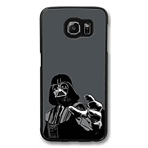 Samsung S6 Case, Galaxy S6 Case - New Arrival Black Hard Case for Samsung Galaxy S6 Darth Wader Movie Scratch-Resistant Hard Back Case for Samsung Galaxy S6