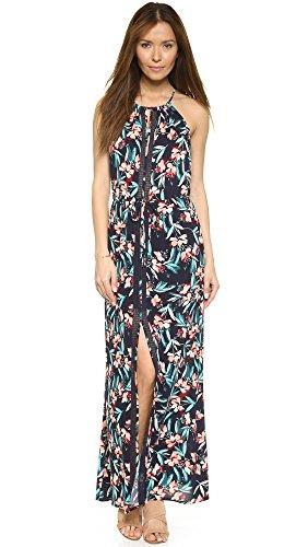 Ella Moss Women's Floradita Maxi Dress, Indigo, Small