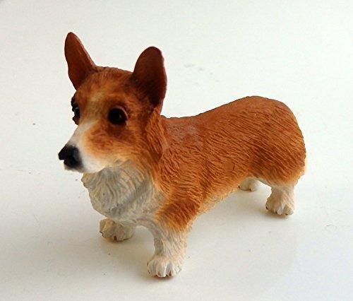 Melody Jane Dolls Houses House Falcon Miniature Animal 1:12 Scale Pet Dog Pembroke Welsh Corgi (Doll Dog Corgi)