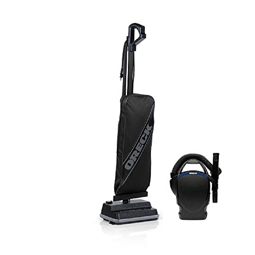 Oreck XL Classic Upright Vacuum Cleaner Lightest Weight 8 LBS Black-Power Bundle with Oreck CC1600 Handheld Vac