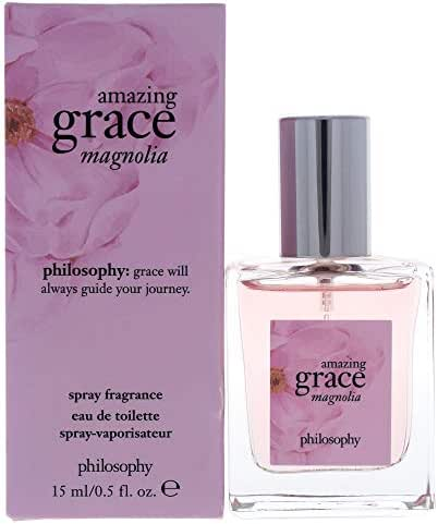 Philosophy Amazing Grace Magnolia By Philosophy for Women - 0.5 Oz Edt Spray, 0.5 Oz