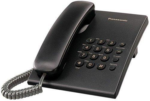 Panasonic KX-TS500C Corded Telephone, Black Panasonic Canada DOBA-KX-TS500B
