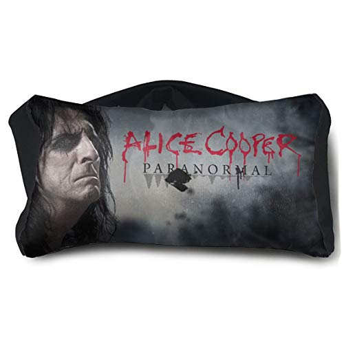 Alice Cooper Sleep Mask Travel Pillow Portable Eye Mask for Airplane Travel,Home Office Outdoor