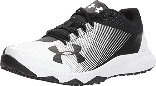 Under Armour Men's UA Yard Low Trainer Black/White 10 D US D (M)