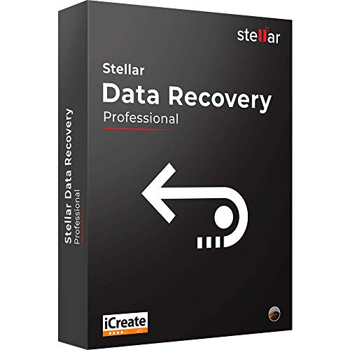 Stellar Data Recovery Software | for Mac | Professional | Recover Deleted Data, Photos, Videos |1 PC 1 Yr | Activation…
