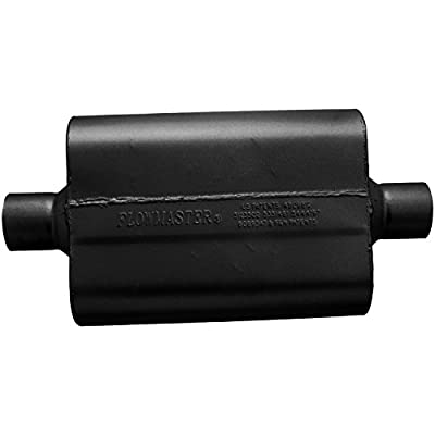 Flowmaster 942540 40 Delta Flow Muffler - 2.50 Center IN / 2.50 Center OUT - Aggressive Sound: Automotive