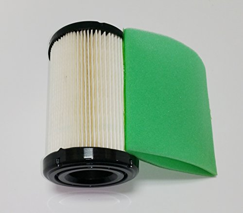 Briggs Stratton Lawn Tractor (Air Filter Plus Pre-Filter For Briggs & Stratton Air Filter 796031, 591334, 594201, Pre-Filter 797704)