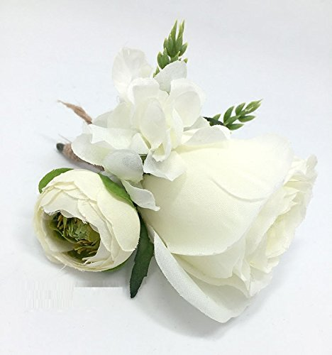 Hoocozi-Groom-Artificial-Silk-Boutonniere-Best-Men-Wedding-Rose-Penoy-Flowerswith-Ear-of-Wheat-Soft-Silk-Corsage-from-1Pce-White