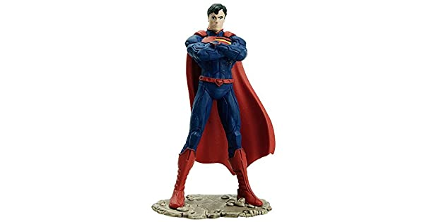 Amazon.com: Schleich Superman Figura de acción de pie ...