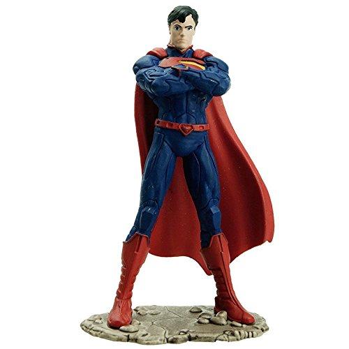 Schleich Superman Standing Action Figure]()