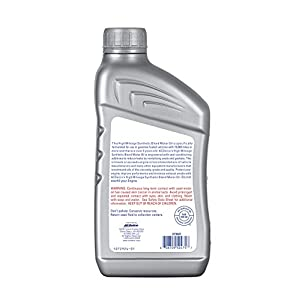 ACDelco 10-9226 Professional High Mileage 5W-20 Synthetic Blend Motor Oil - 1 qt